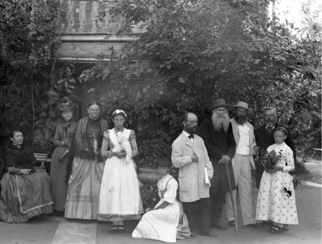 Дворец М.Д.Бутина. Члены семьи и прислуга