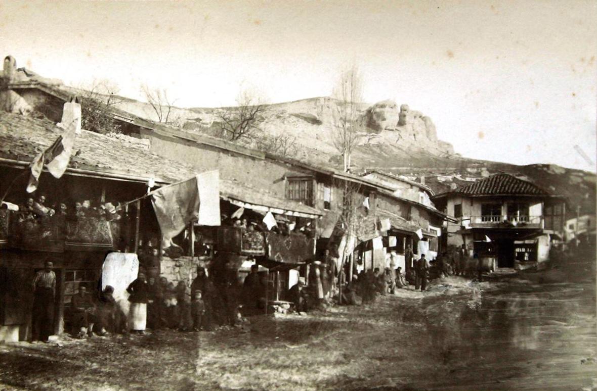 Главная улица Бахчисарая. 1880