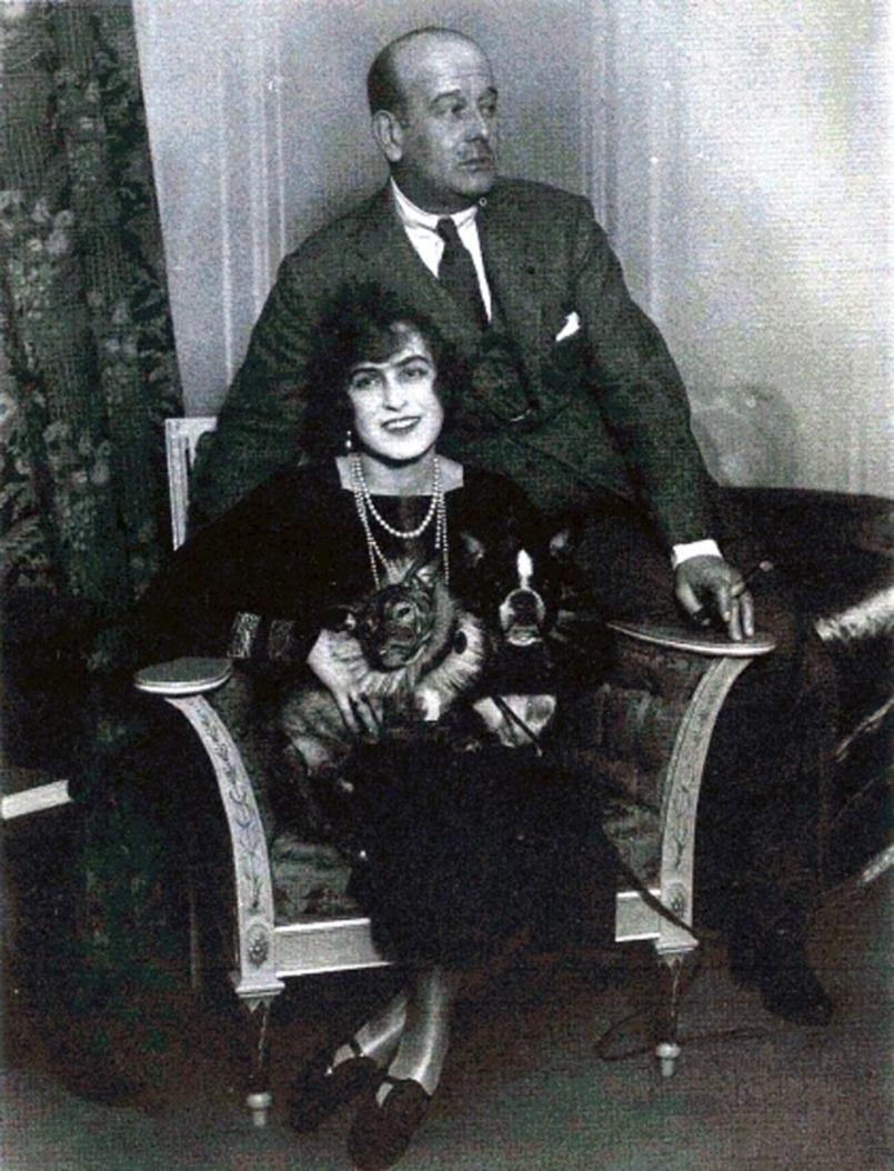 1930-е. Великий князь Борис Владимирович и Зинаида Рашевская