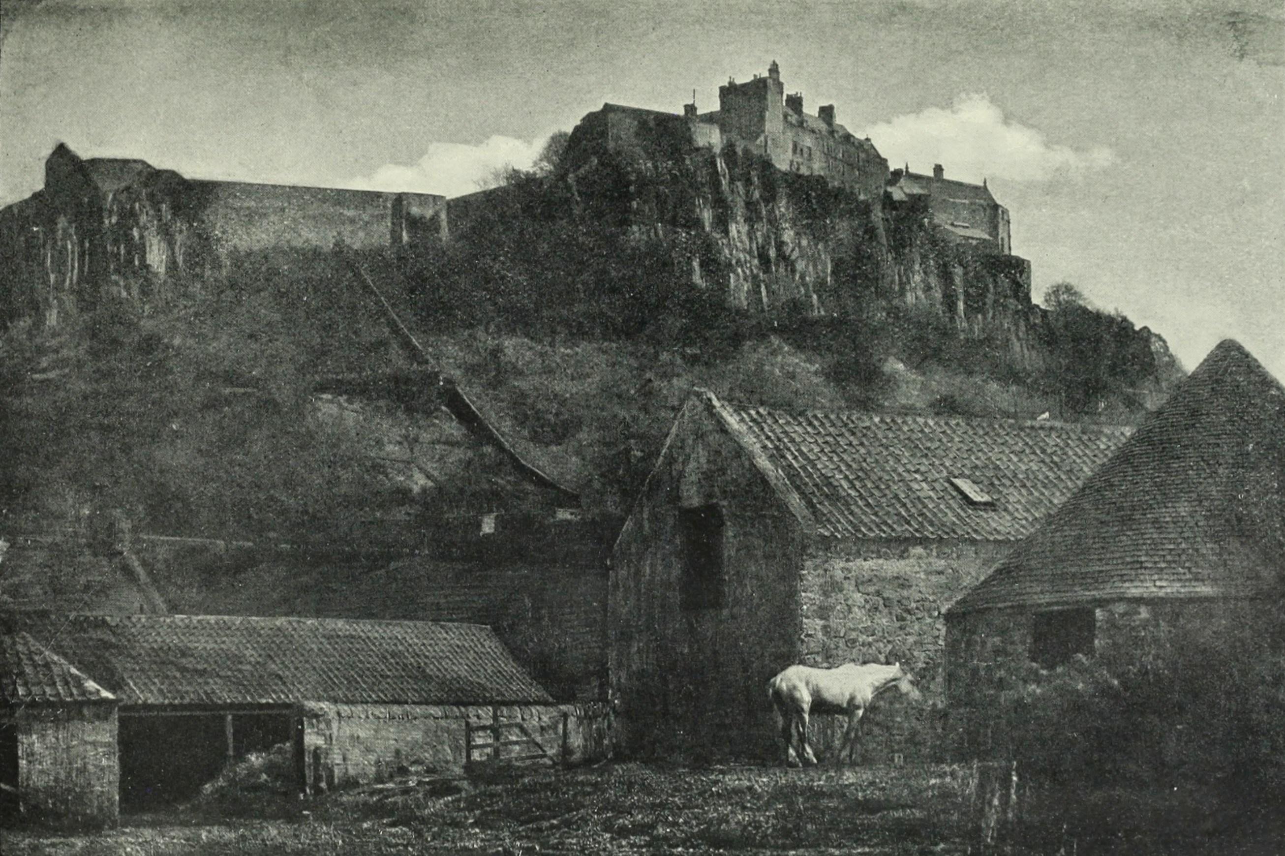 1903. Замок Стирлинг