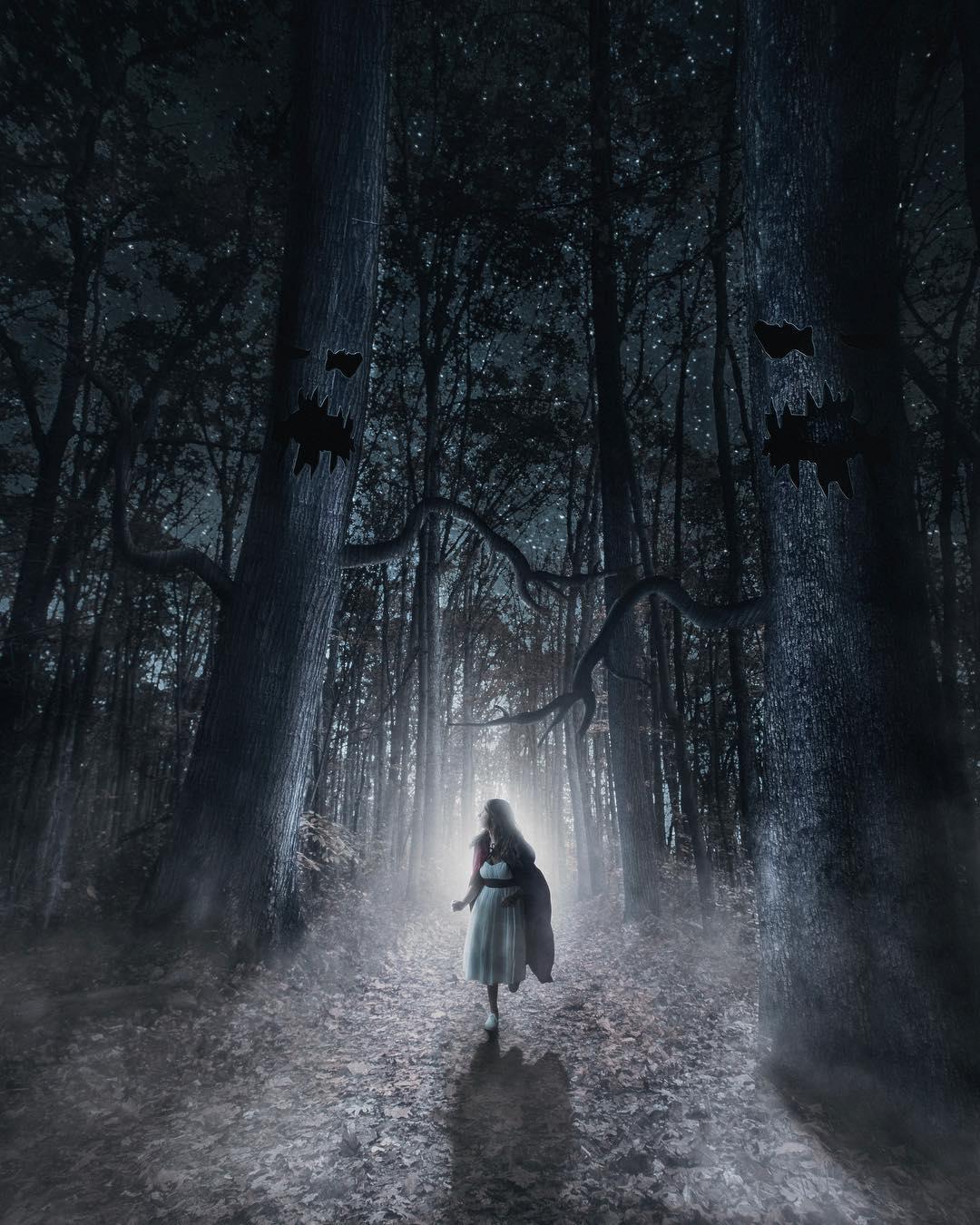 Сказочные фотоманипуляции Уэсли Грима