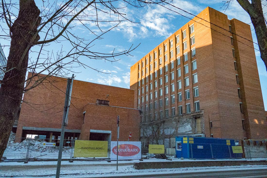 Канцелярия президента Эстонии будет работать в бывшем здании завода «Балтиец»