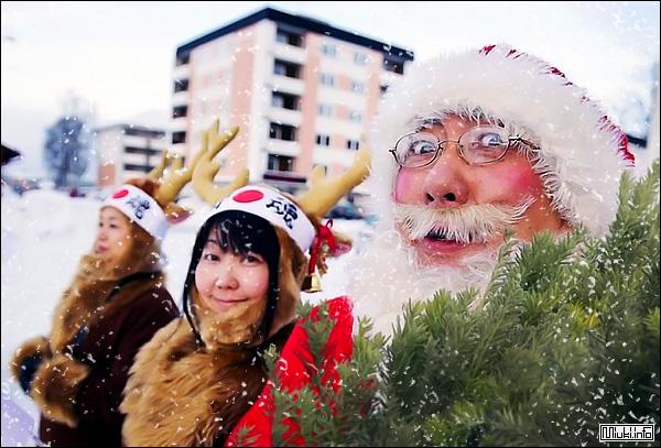 Японские новогодние поздравления и подарки