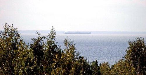 Финский залив вид с горы