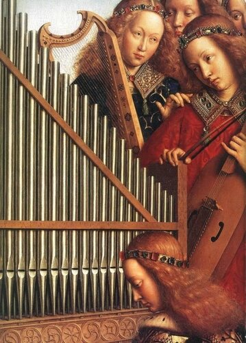 Подборка картин  «Музыкальная компания в живописи»