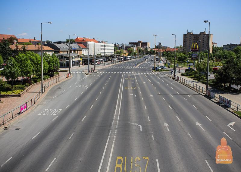 Дорога до Секешфехервара займёт чуть больше часа