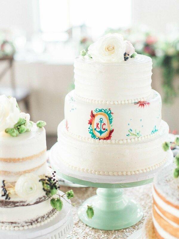 0 1782ef e822c6ed XL - Красивейшие свадебные торты сезона 2017-2018