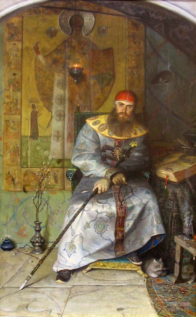 Павел Рыженко.  Князь Алексей Михайлович Тишайший