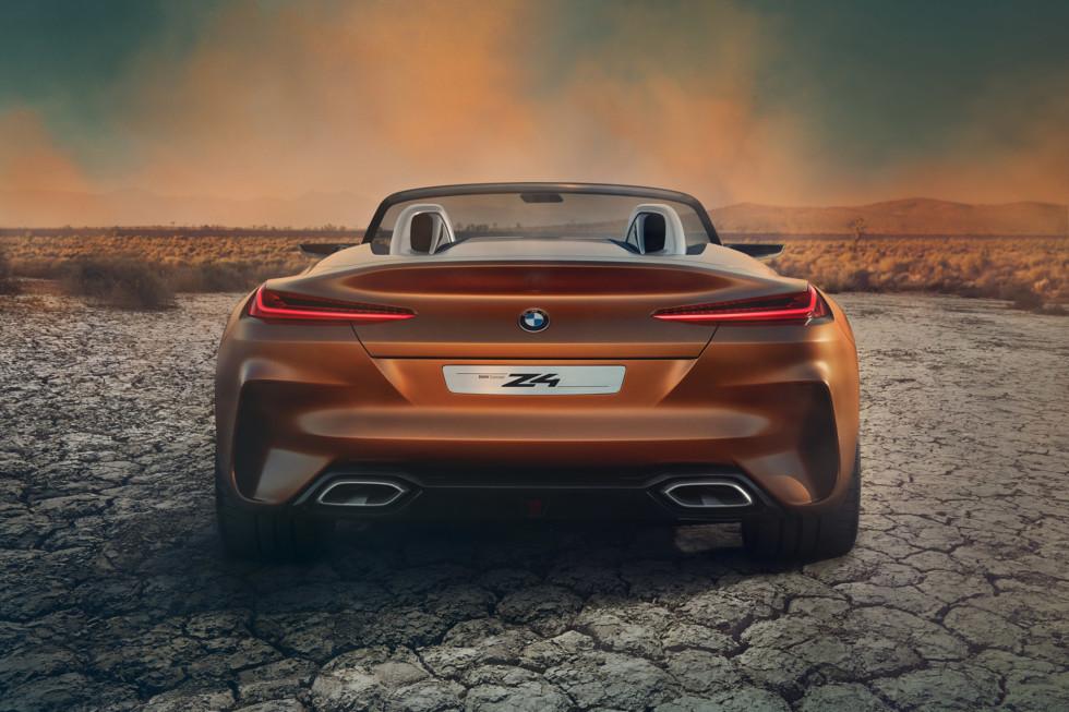 Новая BMW Z4 получит несколько мощных моторов (2 фото)