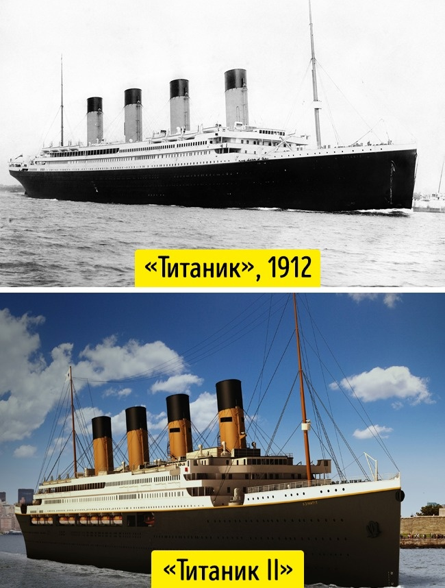 7фотографий «ТитаникаII», который отправится вплавание через пару лет (7 фото)