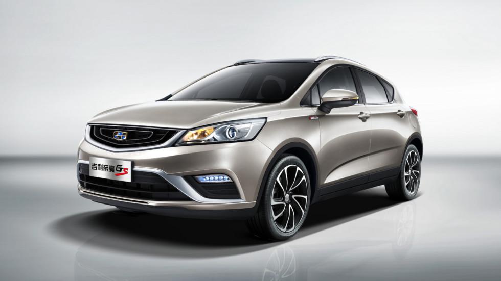 Geely Emgrand GS   Geely Auto Group планирует к 2020 году увеличить продажи до двух миллионов м