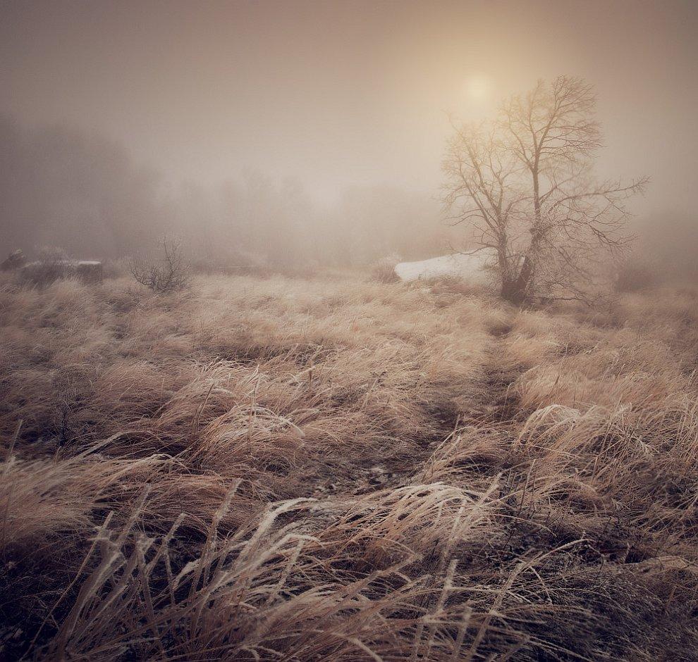 Когда мы добрались до Долины Привидений, то уже наступила осень, после зимы. Шёл мокрый снег, которы