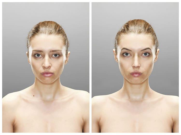 Ожидания и реальность: фотограф показал, как отличается образ в нашей голове от того, что видим в зеркале