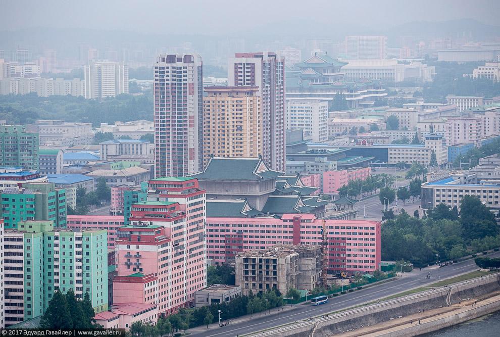 высота смотровая площадка смотровые площадки Пхеньян с высота с высоты города