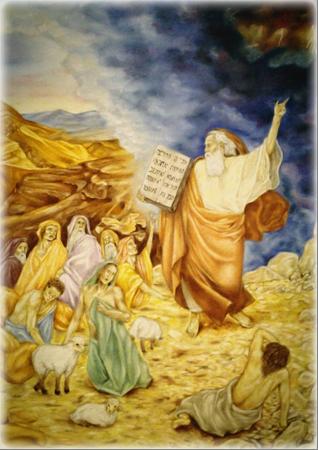 C:\Users\Любовь\Desktop\ФОТО Студия МОЯ рисунки детей\Пророк Моисей. Брагина Лиза.jpg