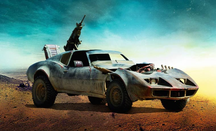 Mad Max – The twisted cars of Fury Road