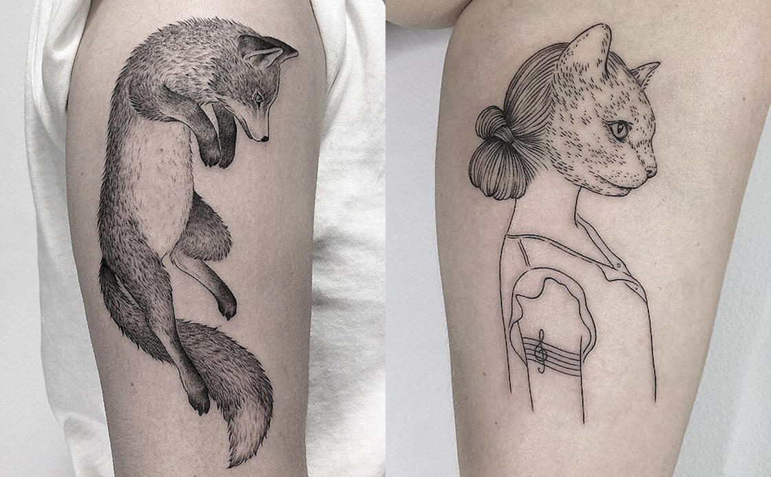 The beautiful tattoos of Marla Moon (32 pics)