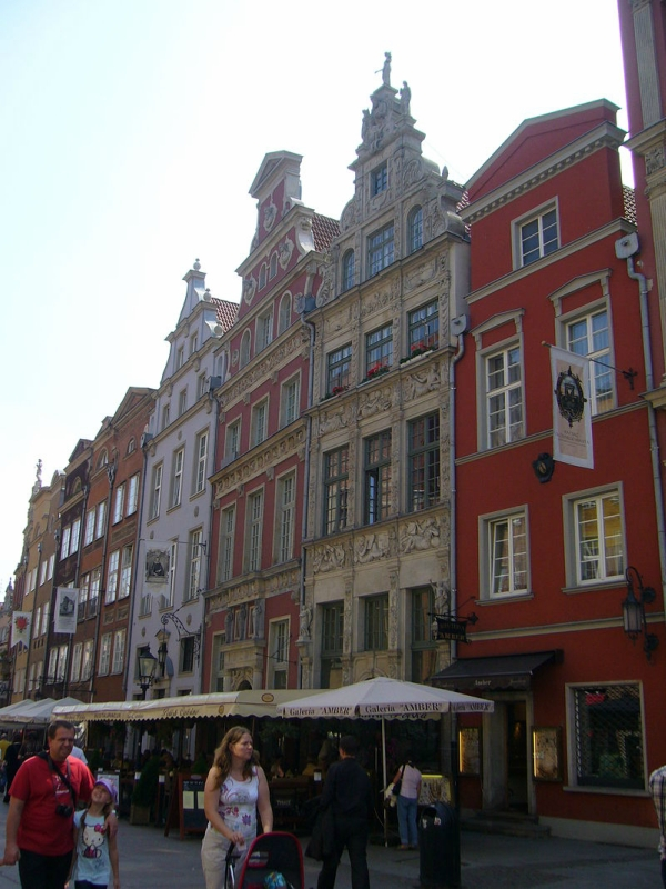 Gdańsk_-_Townhouses.