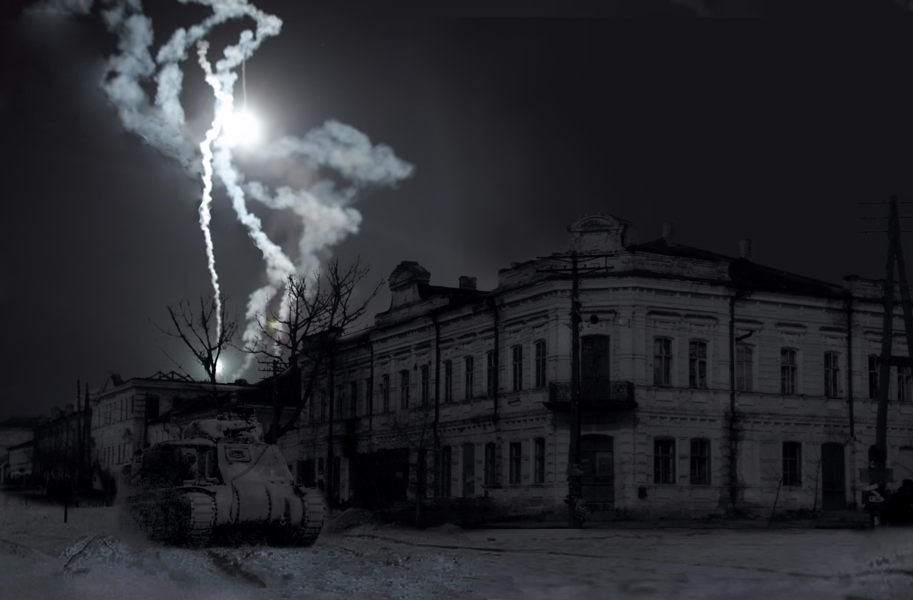 9 февраля 1943 танк Попова реконструкция Александр Дель Санчесс
