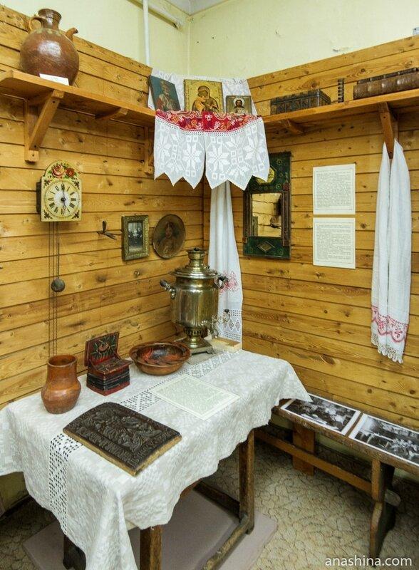 Реконструкция крестьянской избы, Рыбинск