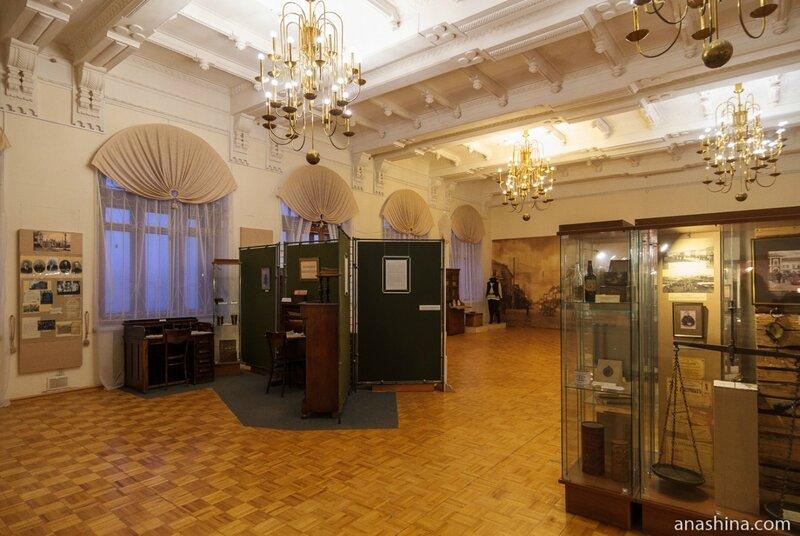 Зал, посвященный Рыбинску XIX - начала XX веков