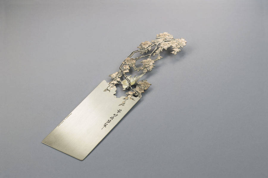 Poetic Hand-Cut Silver Bookmarks (30 pics)