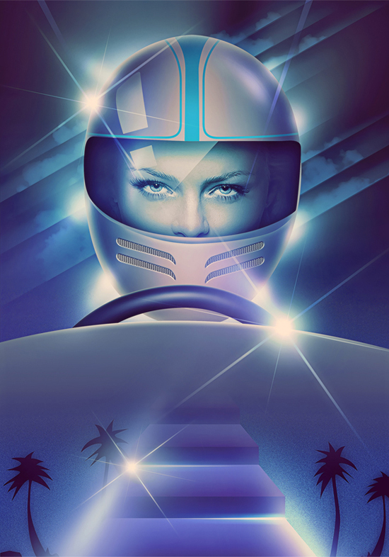 Retro Futuristic Illustrations - Filipp Ryabchikov