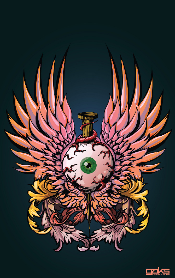 Gaks Designs - Gerrel Saunders - Digital illustrations