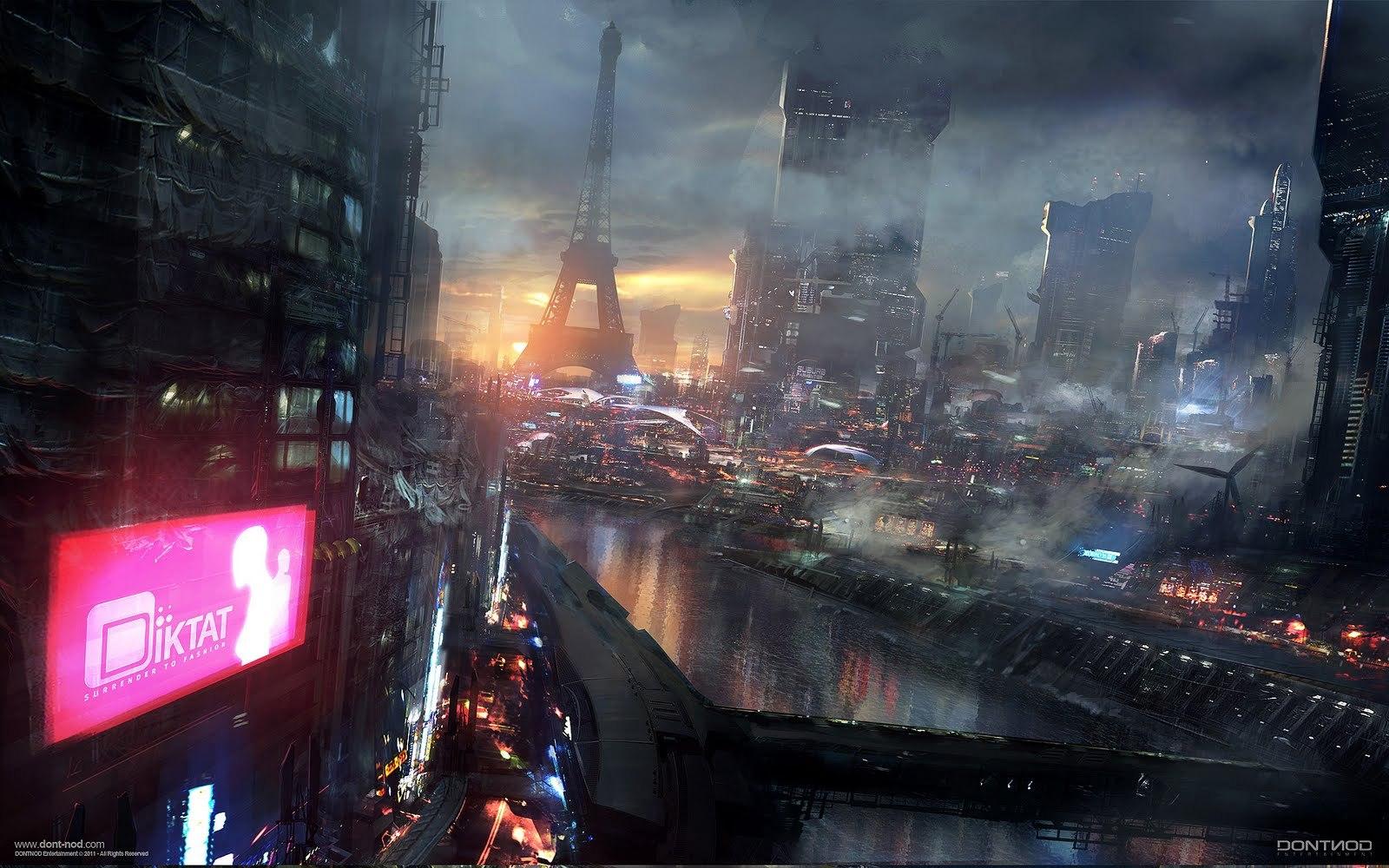 Breathtaking Views of Futuristic Cities
