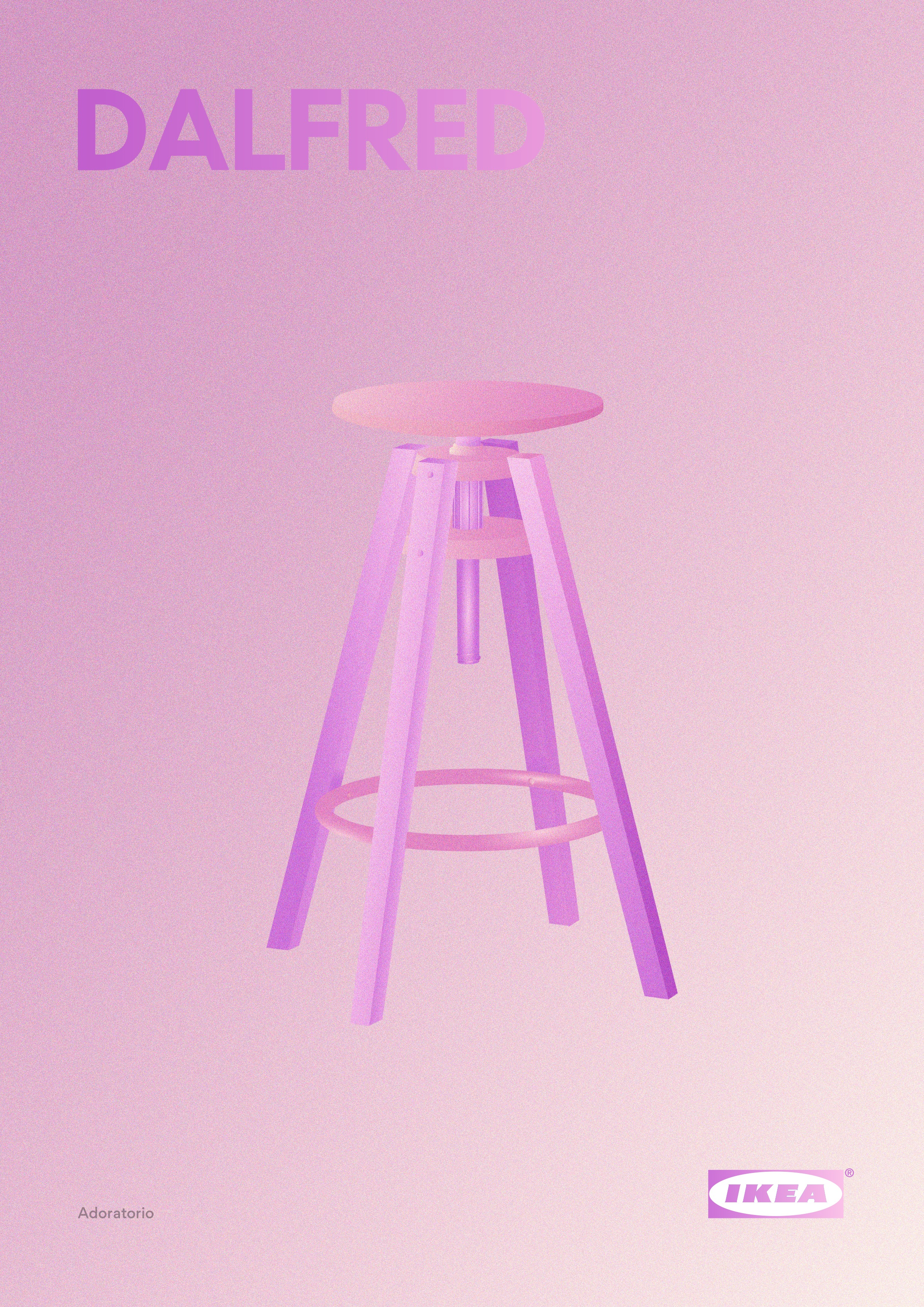 Stunning Color Gradient Ikea Posters