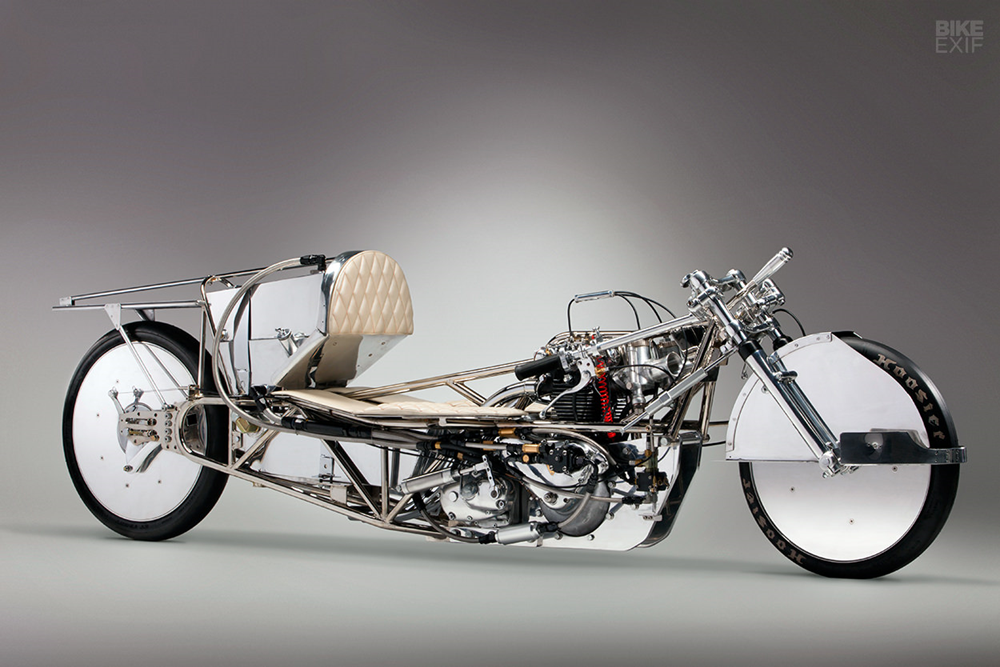 Альп Сунгуртекин: бонневилль-рейсер Target 200 на базе старого мотора Triumph