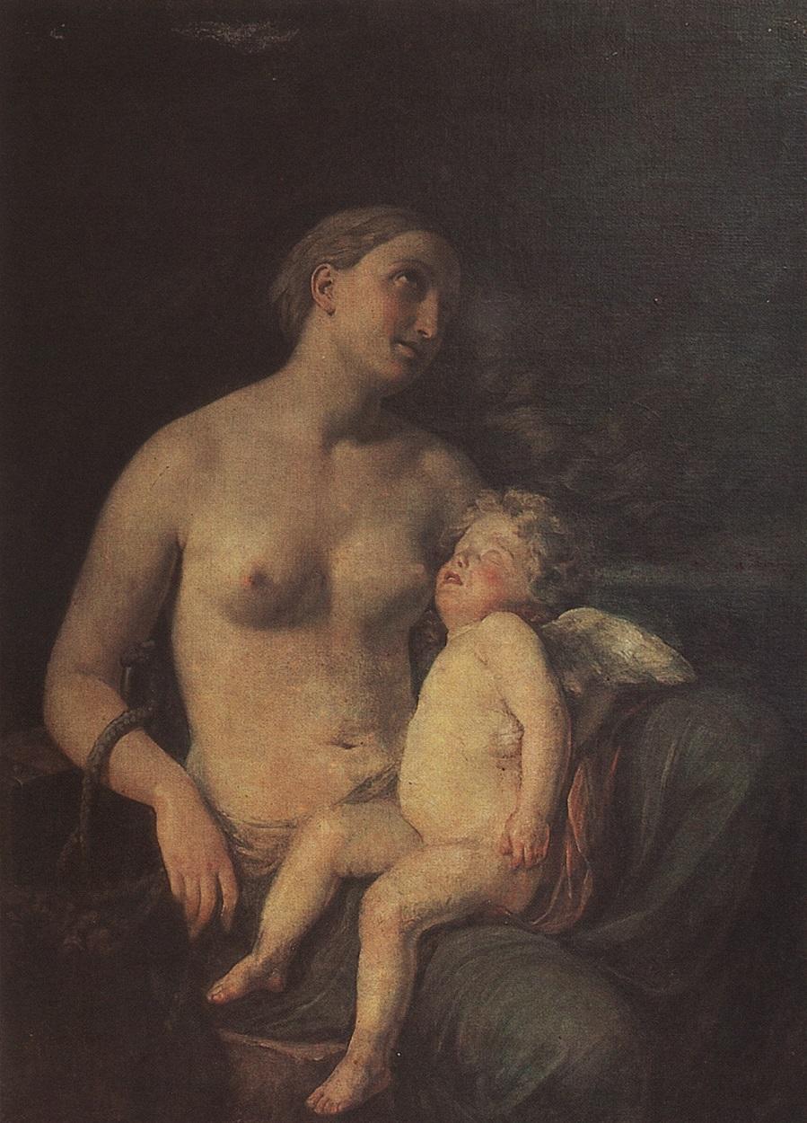 Надежда, питающая любовь. 1824