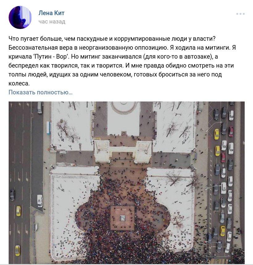 Забастовка Навального 28.01.2018 - 46