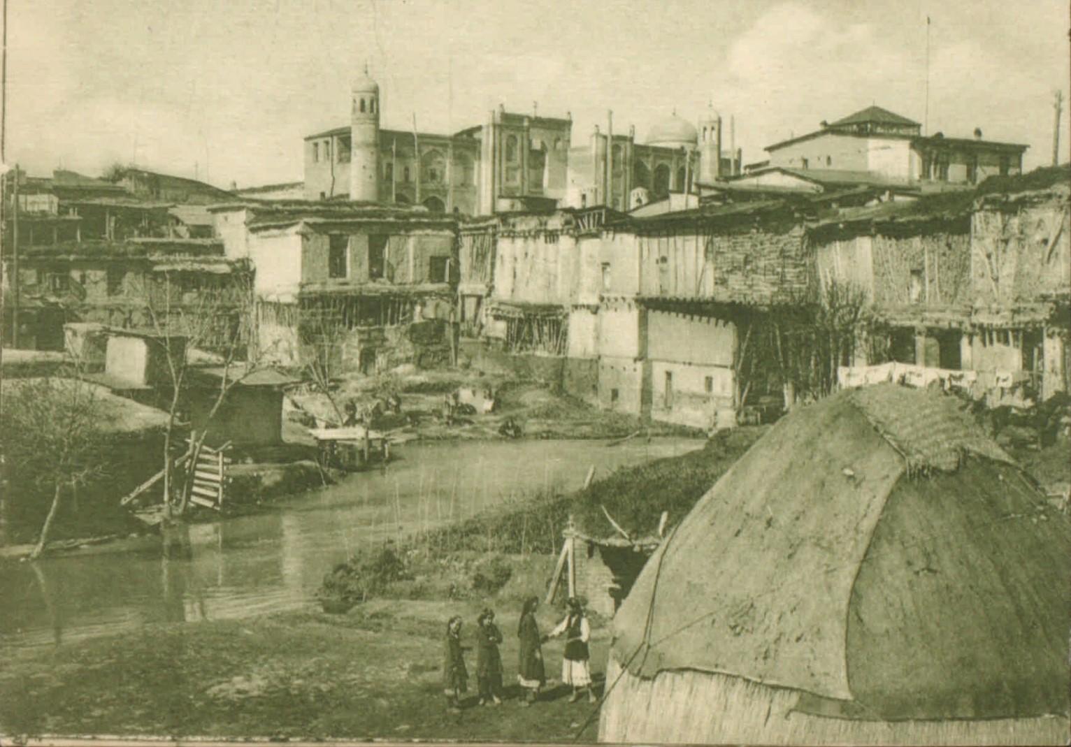 Масляй-Магала. Уголок в старом городе