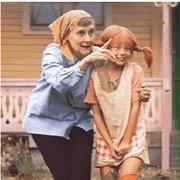 пеппи и писательница