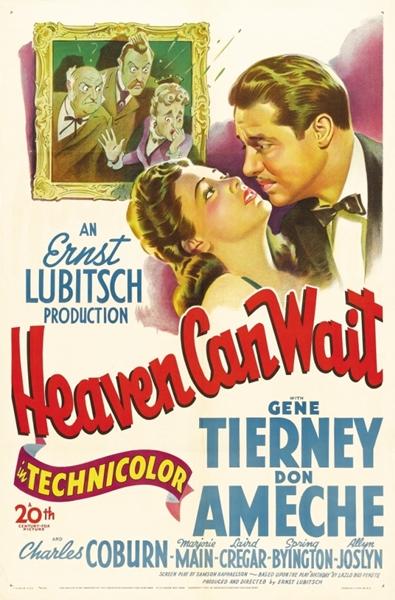 Небеса могут подождать / Heaven Can Wait (1943/DVDRip)