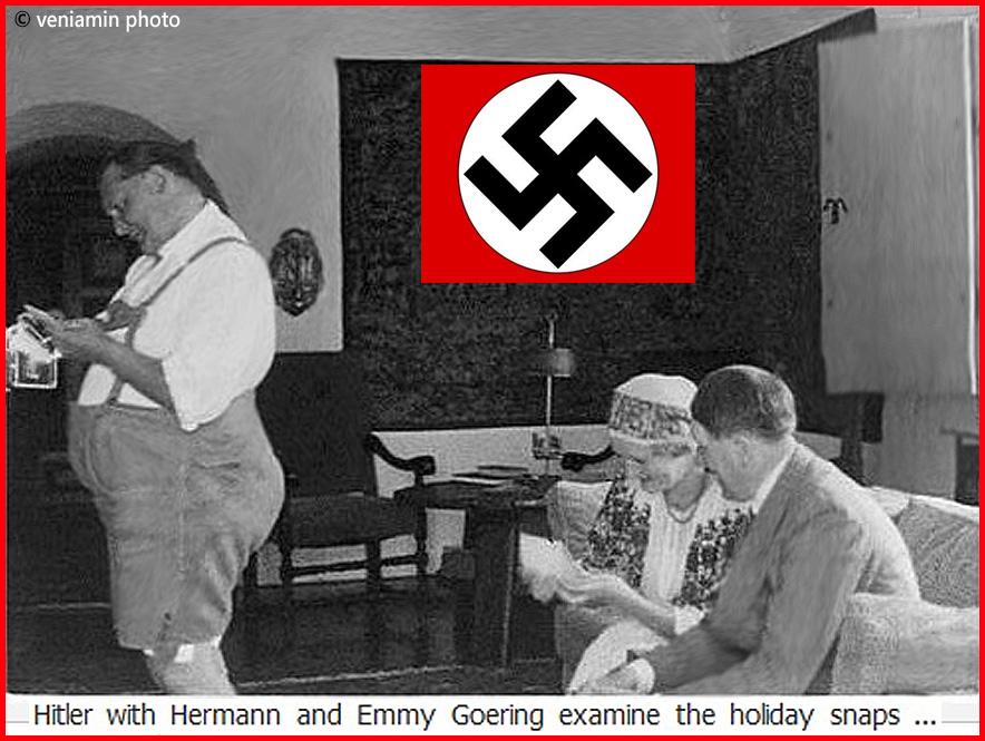 Гитлер, Геринг и Эмми Герин