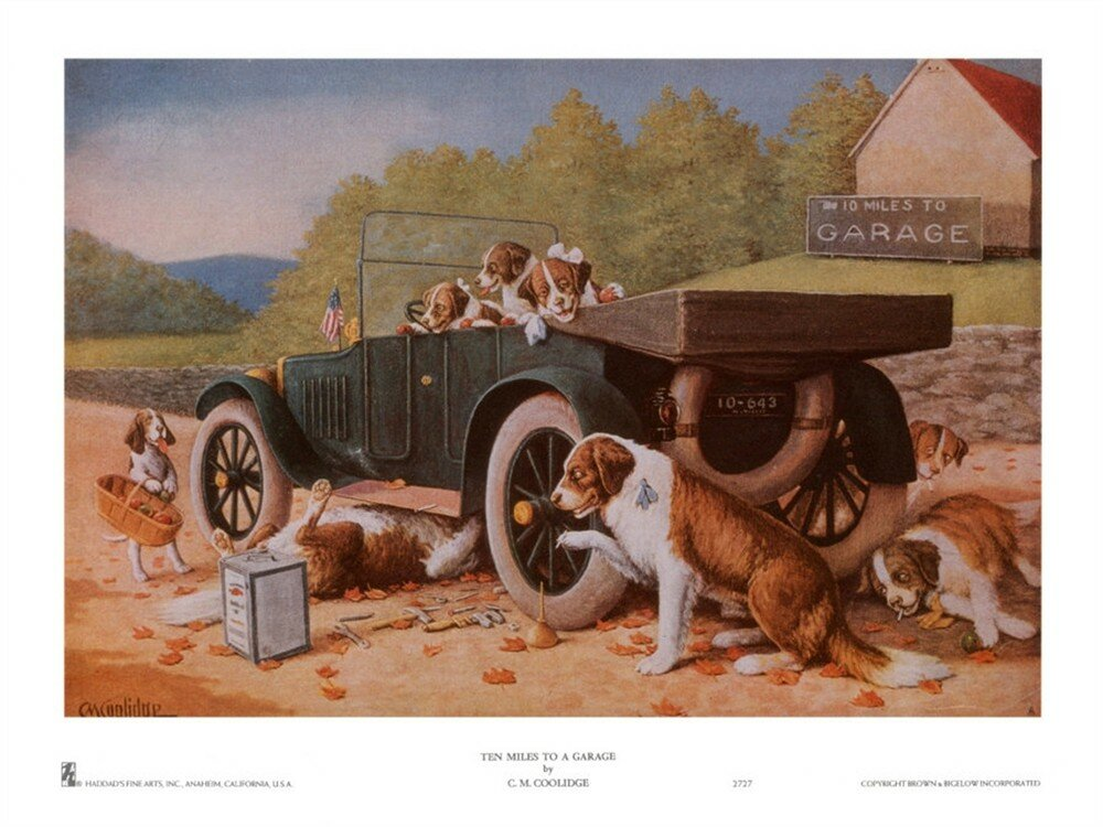 Ten Miles to a Garage By Cassius Marcellus Coolidge.jpg