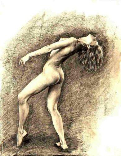 Anthony Tewfik (1955, English)    The Dancer