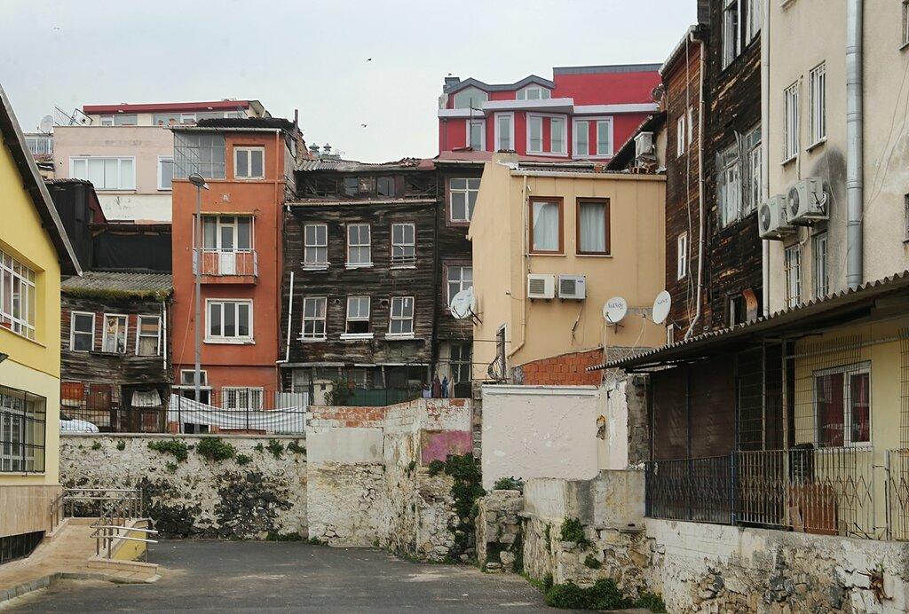 Стамбул. Улица Чанкуртаран (Cankurtaran Cd)