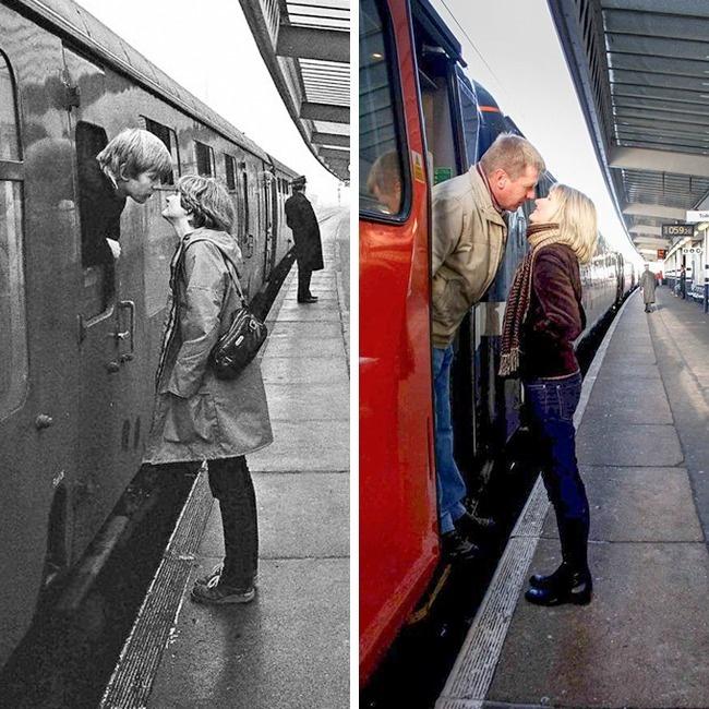 Уличный фотограф отыскал героев своих фото 30лет спустя (9 фото)