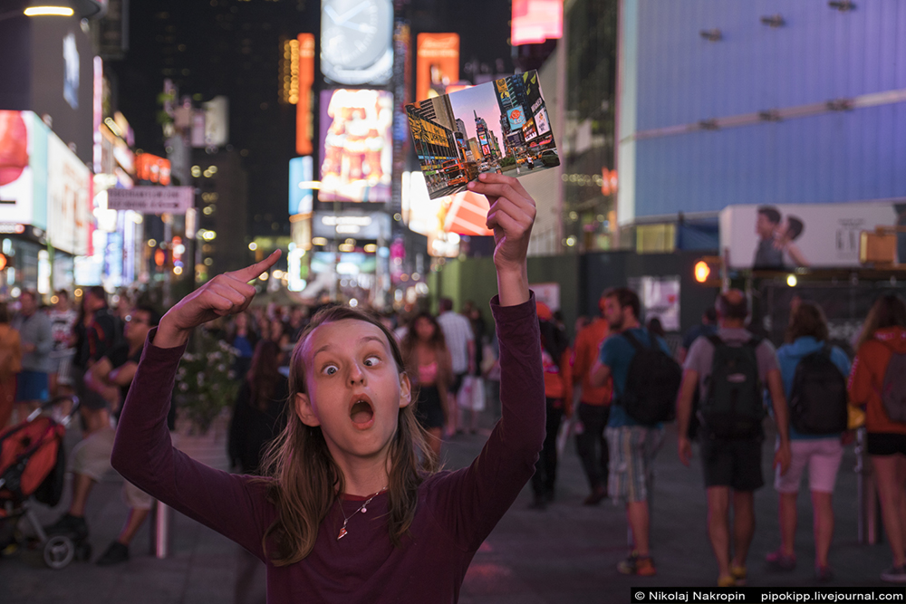Двенадцатилетняя немка о своей поездке в США. Рекомендация и впечатления.