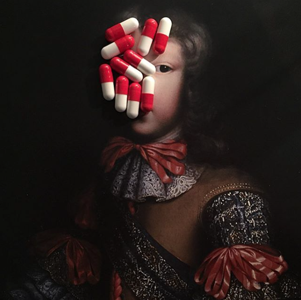 Amusing Instagram of Artworks Decorated With Candy