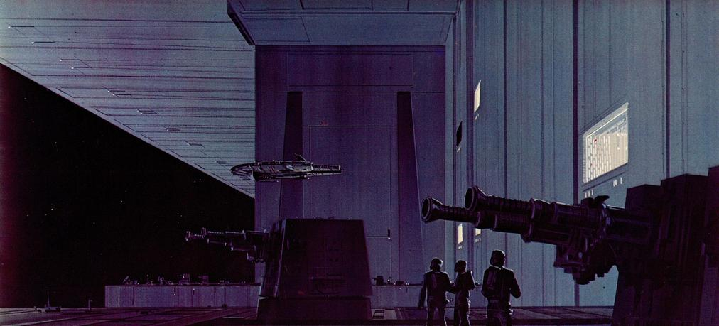 Original Star Wars Storyboard Illustrations - Ralph McQuarrie