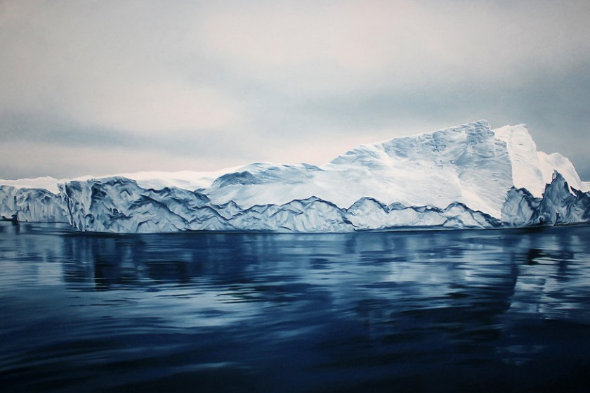The Landscape Drawings by Zaria Forman