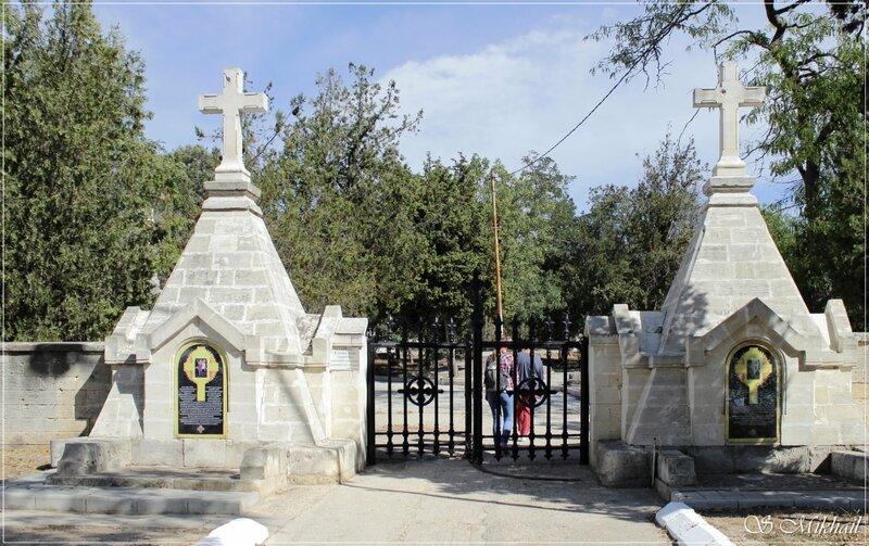 Братское кладбище Крымской войны 1854-55 годов.