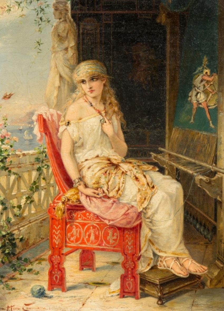 Penelope Awaiting Odysseus.