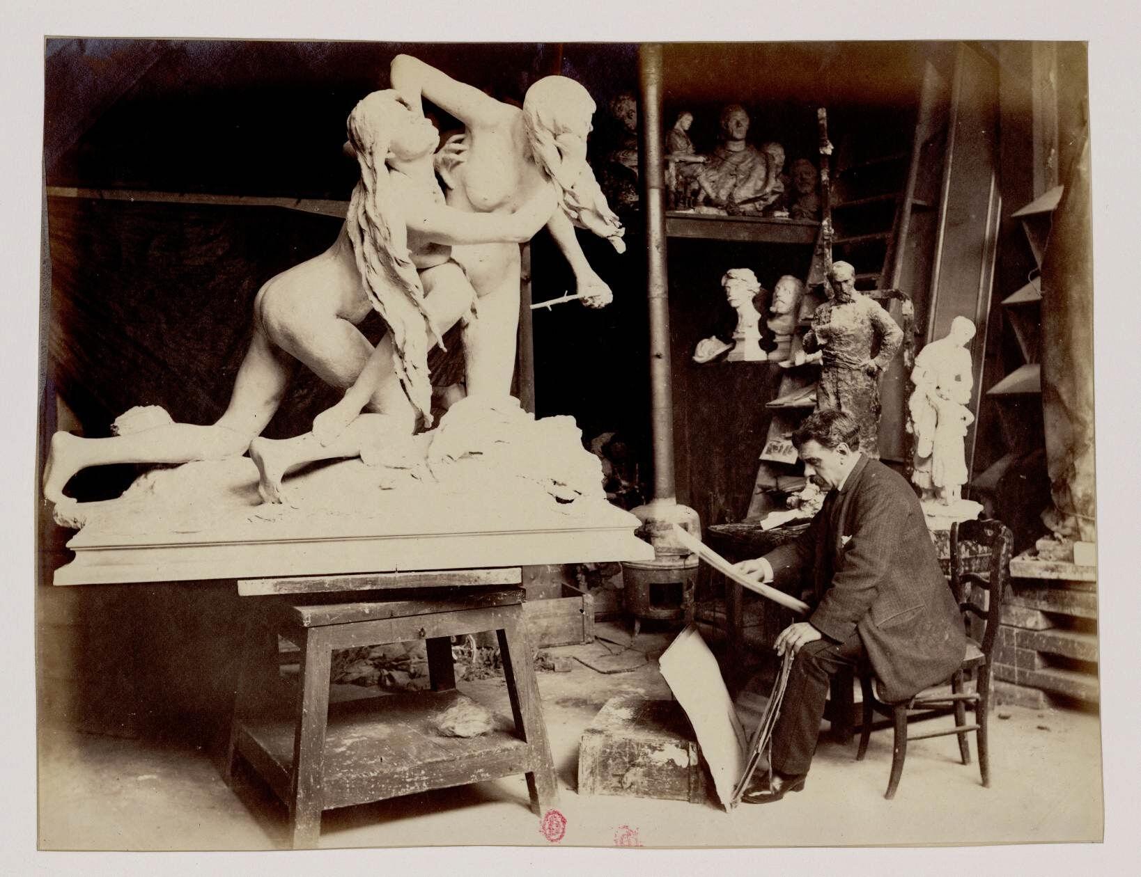 Александр Фальгьер (1831 — 1900) — французский художник и скульптор