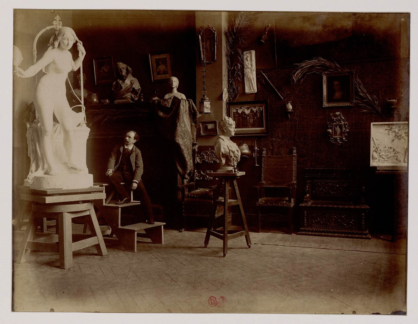 Люсьен Пальлез (1853 - 1931) (Скульптор)