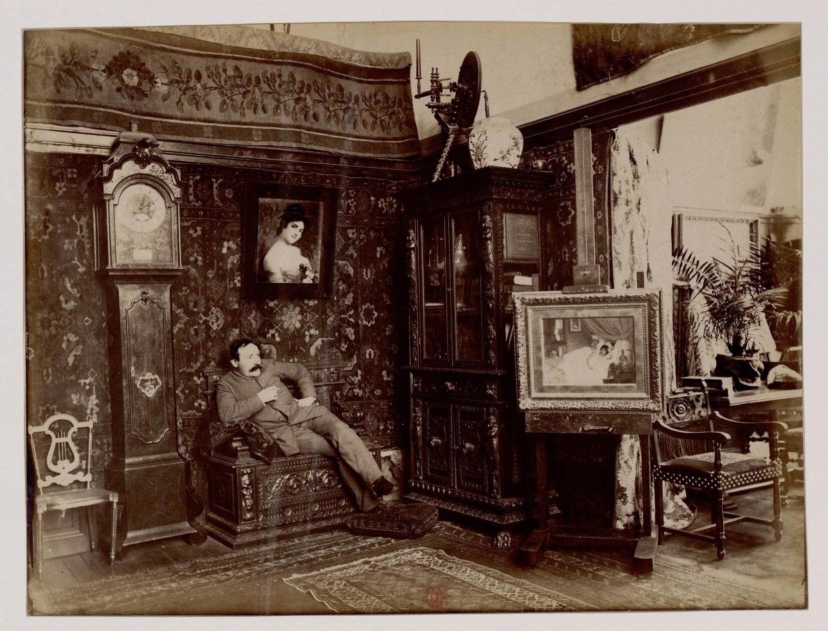 Хосе Фраппа (1854-1904) — французский художник